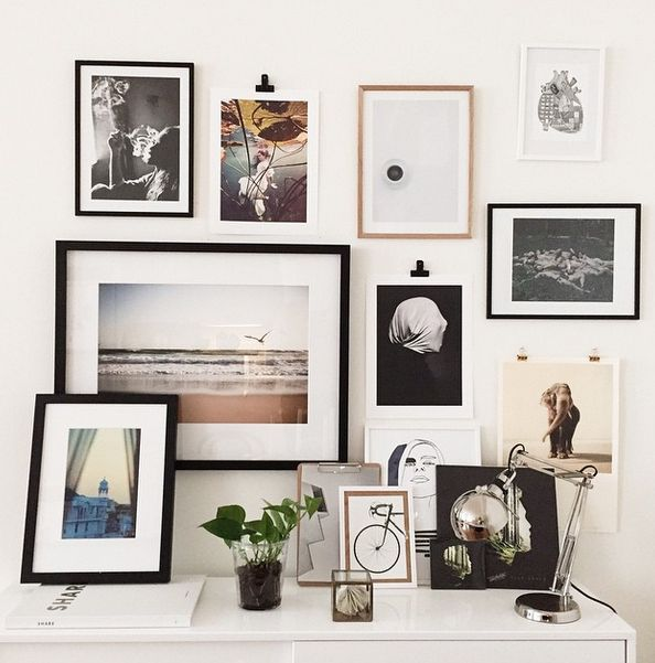 Neutral Color Definition: Combining Black, White, And Neutral Color Frames On Your