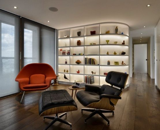 2 eames womb chair in small apartment & 2 eames womb chair in small apartment | Home Furniture Ideas ...