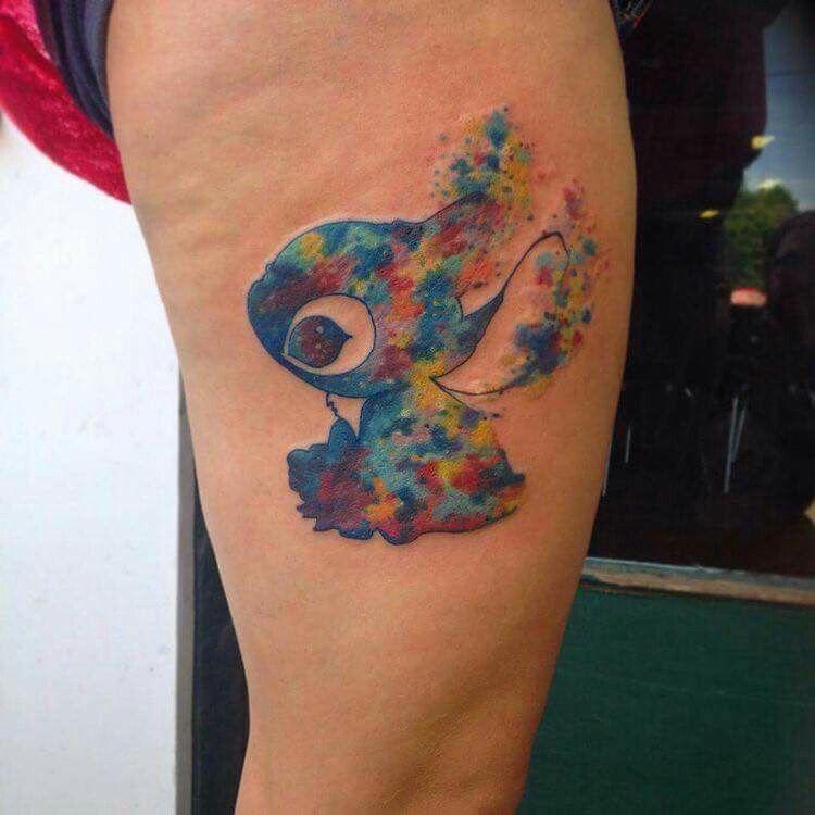 Stitch tattoo! Disney                                                                                                                                                      More