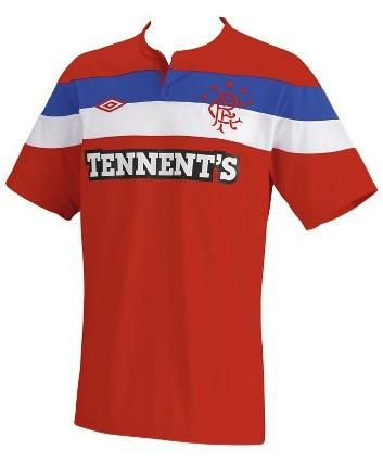 GLASGOW RANGERS away 2011-12