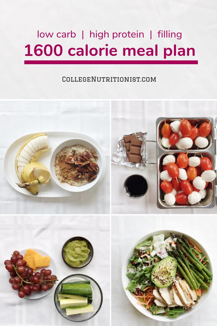 1600 Kalorien, proteinreicher Speiseplan mit Haferflocken und Caprese-Bissen   – Brunch on a Budget