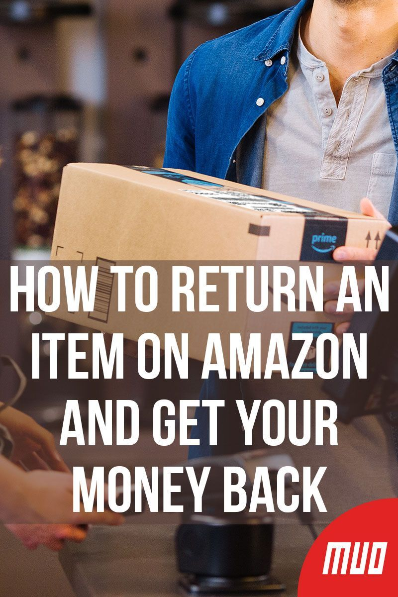How To Return Money From Amazon