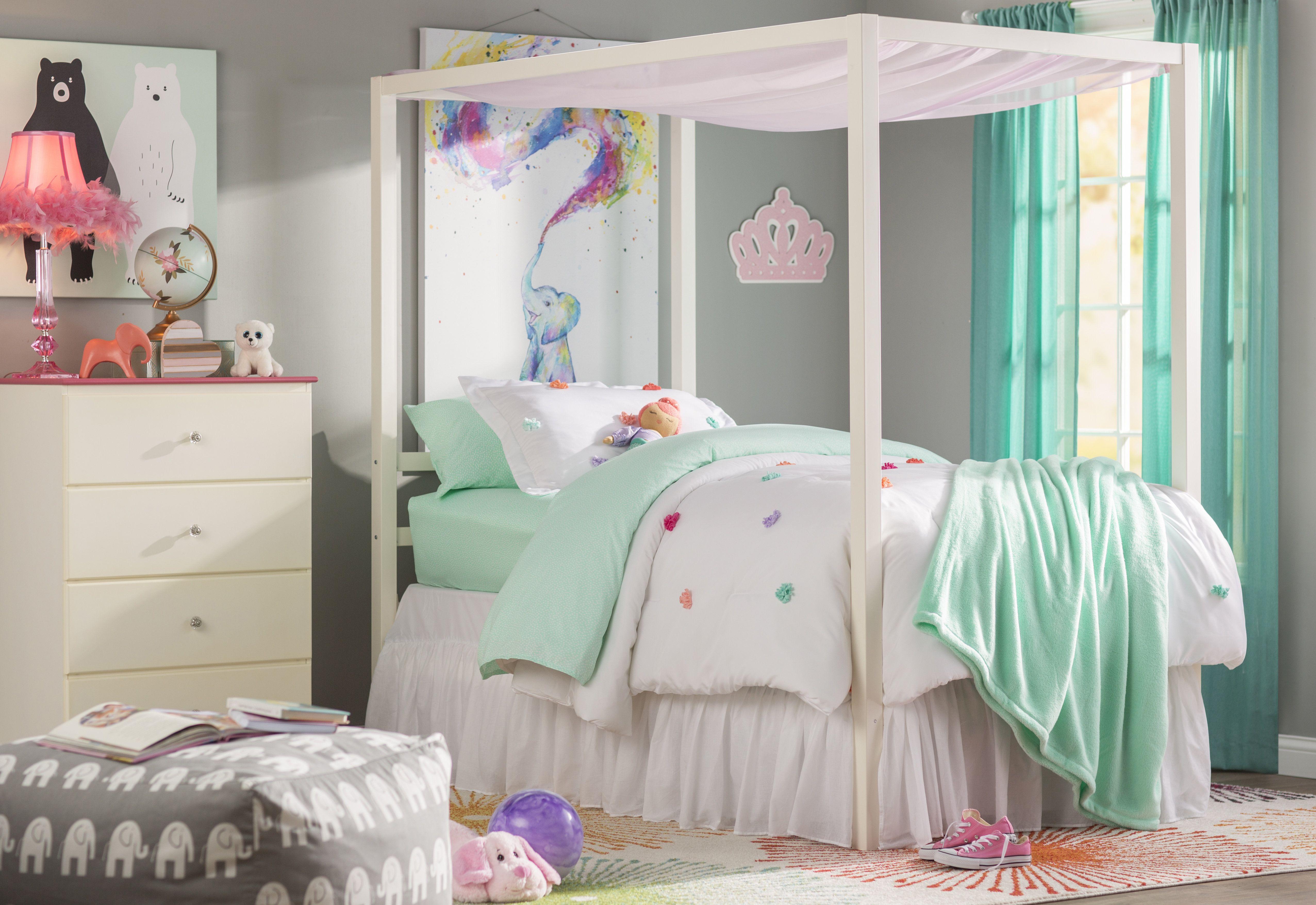 Unicorn Bed Frame Dengan Gambar Kanopi Minimalis