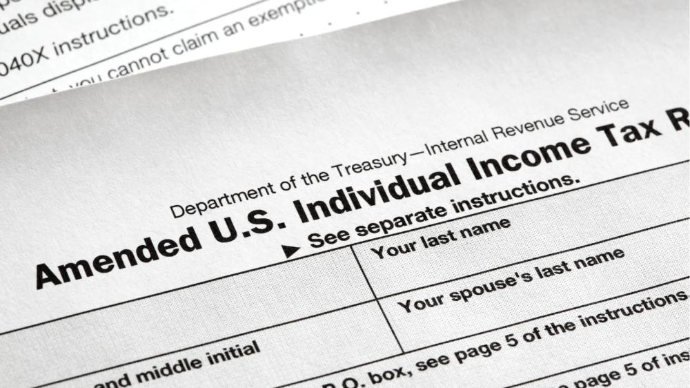 How To Amend A Tax Return Online Tax Return Irs Tax Forms Tax