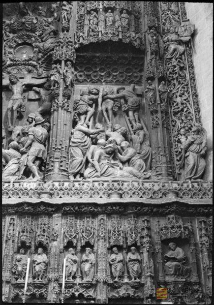 Huesca. Catedral. Retablo del altar mayor (Forment). José Galiay Sarañana