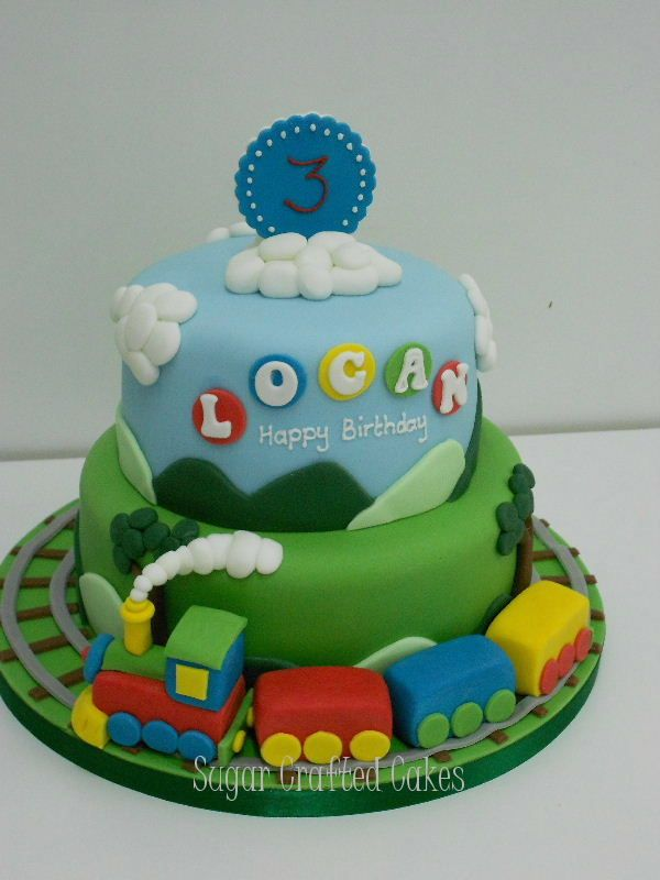 Train - Sugar Crafted Cakes based in Ripon, North Yorkshire