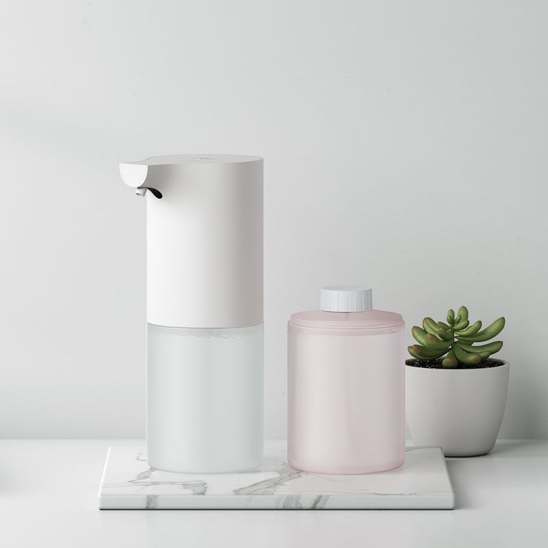 Xiaomi First Crowdfunding Xiaomi Mijia Automatic Epochal Design 320ml Soap Dispenser Antibacterial Hand Foam Soap Dispenser Automatic Soap Dispenser Foam Soap