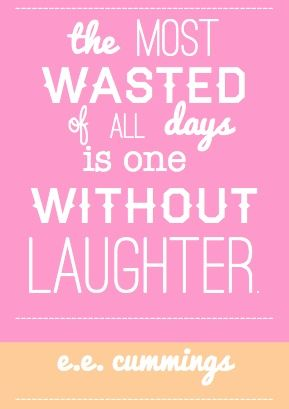 laughter. just-because