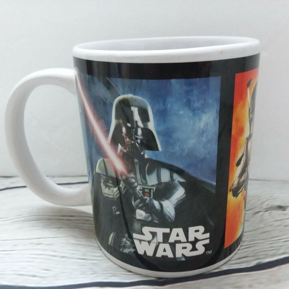 Star Wars Galerie Ceramic 2012 Coffee Mug Darth Vader Stormtrooper Boba Fett Starwars In 2020 Boba Fett Boba Stormtrooper