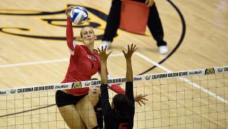 Martina Samadan Named Wac Volleyball Player Of Week Volleyball Players Volleyball Volleyball News