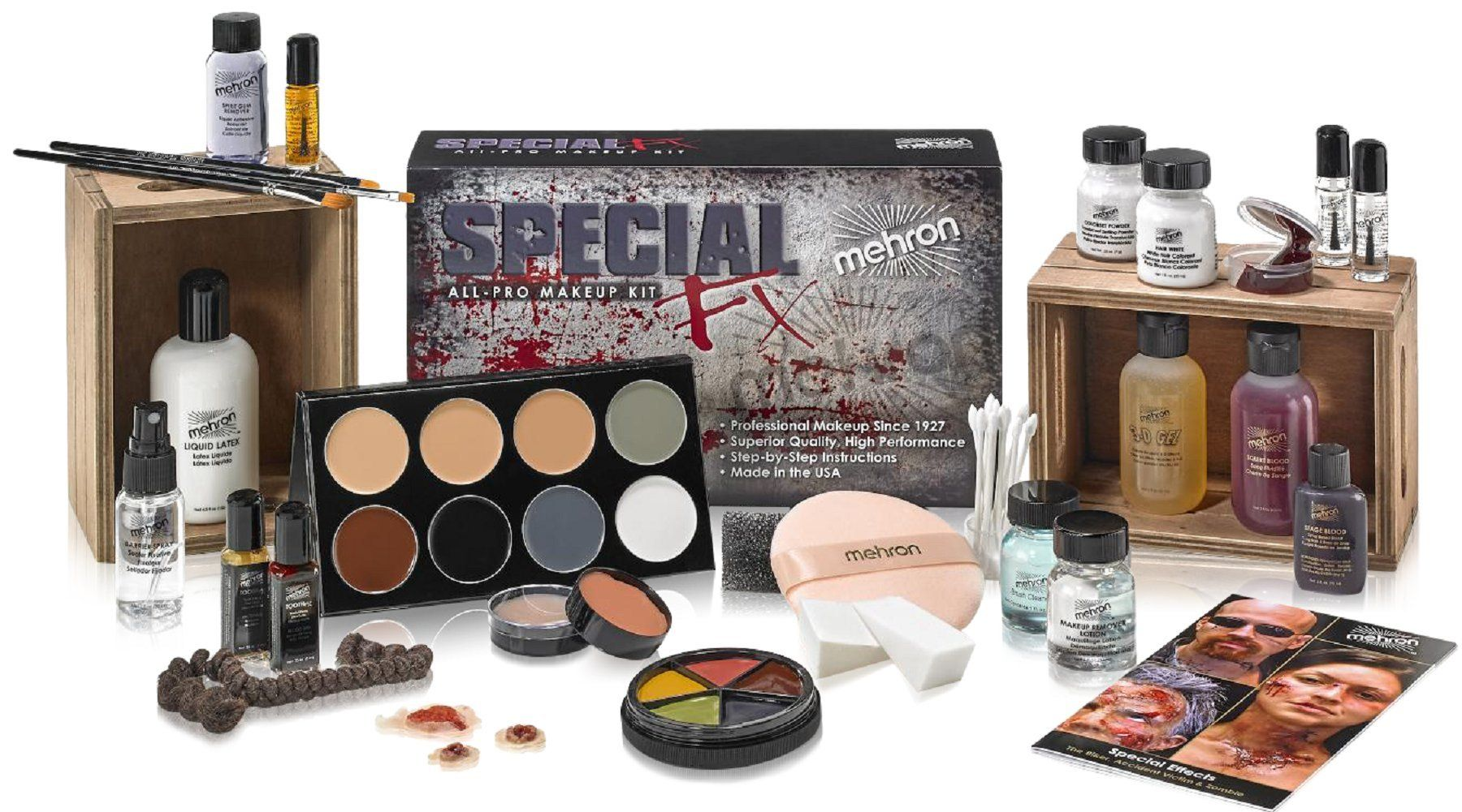 Mehron Makeup Special FX Kit (With images) Makeup kit