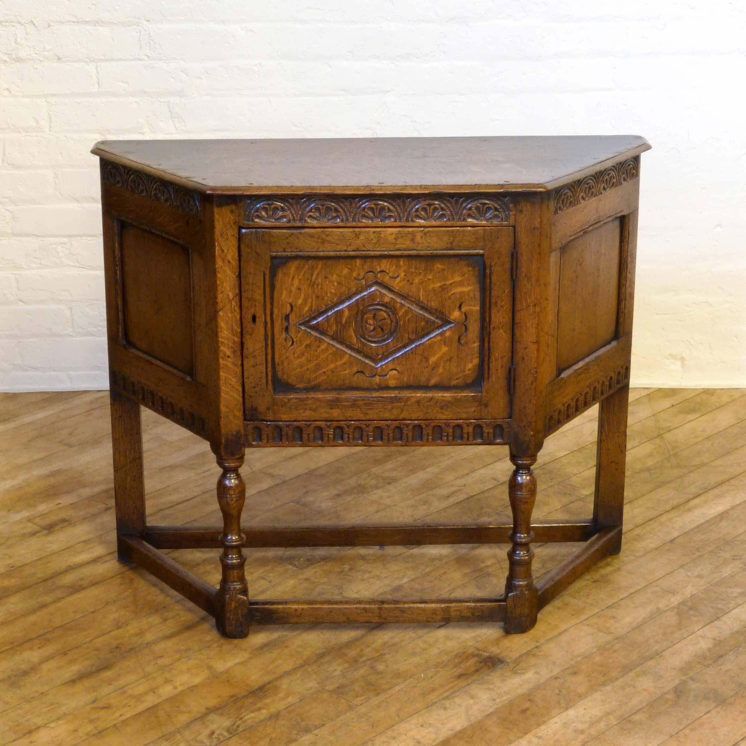 Victorian 17th Century Style Oak Credenze Table http://witchantiques.com/antique-victorian-17th-century-style-oak-credenze-table.html