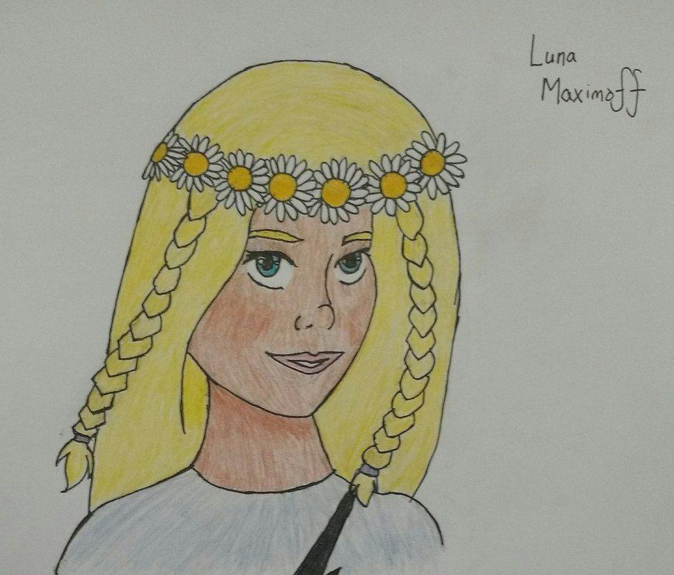 Flower Moon Princess by diangeloshepherd.deviantart