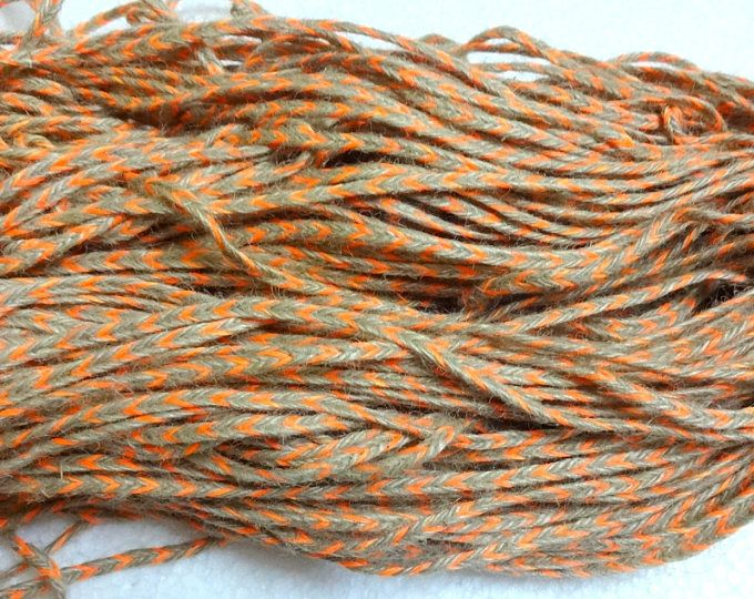 2mm Natural Jute Twine Rope Cord, Non-Polished Gift Wrap, Packaging, eco-friendly hemp yarn 100 g 55