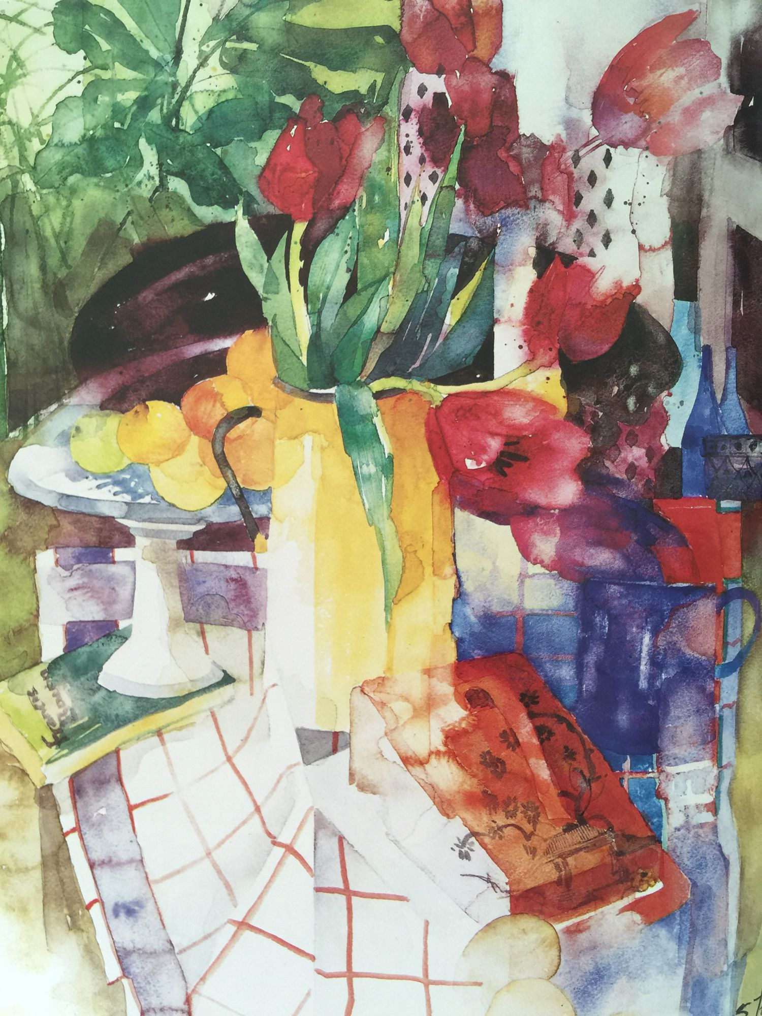 Watercolor By Shirley Trevena Aquarelle Fleurs Aquarellistes