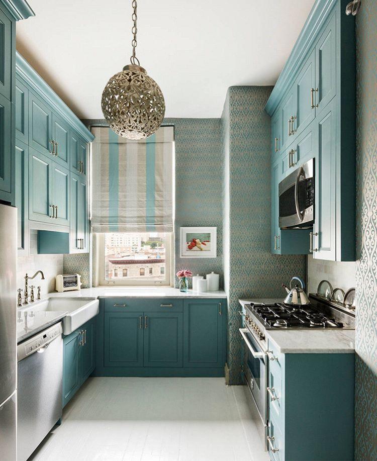 Mutfakta klasik renklerden çıkmak istiyorsanız, işte size cesur bir