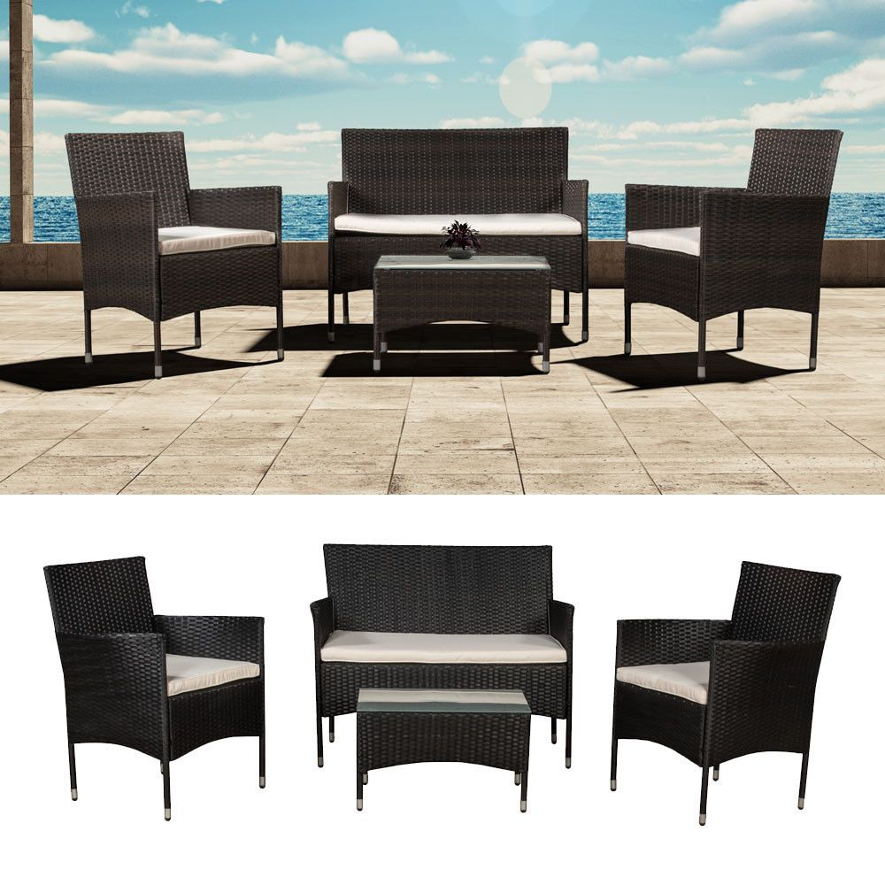 Polyrattan Gartenmöbel Gartenset Sitzgruppe Rattan Lounge Garnitur Set  Komplett Check More At Https://