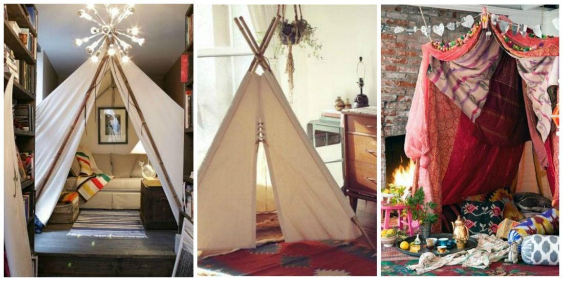 Indoor decor with teepees u0026 tents - this is perfect to keep kids busy during winter & indoor play space - Google Search | Play Cafe | Pinterest | Indoor ...