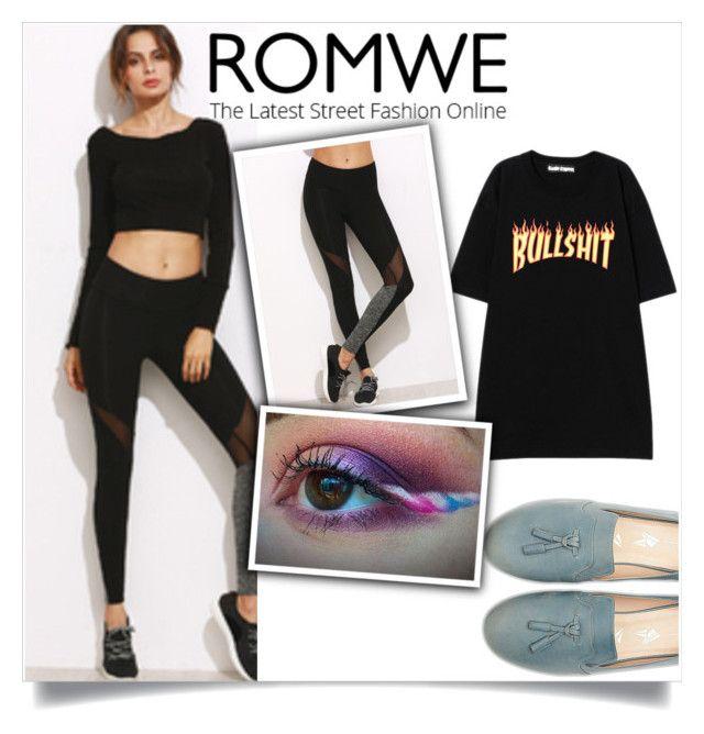 """ROMWE"" by velci-987 ❤ liked on Polyvore"