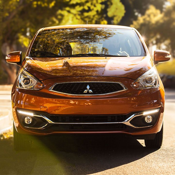 2017 Mitsubishi Mirage Exterior Front Grill And Headlights Mitsubishi Mirage Mitsubishi Mirage
