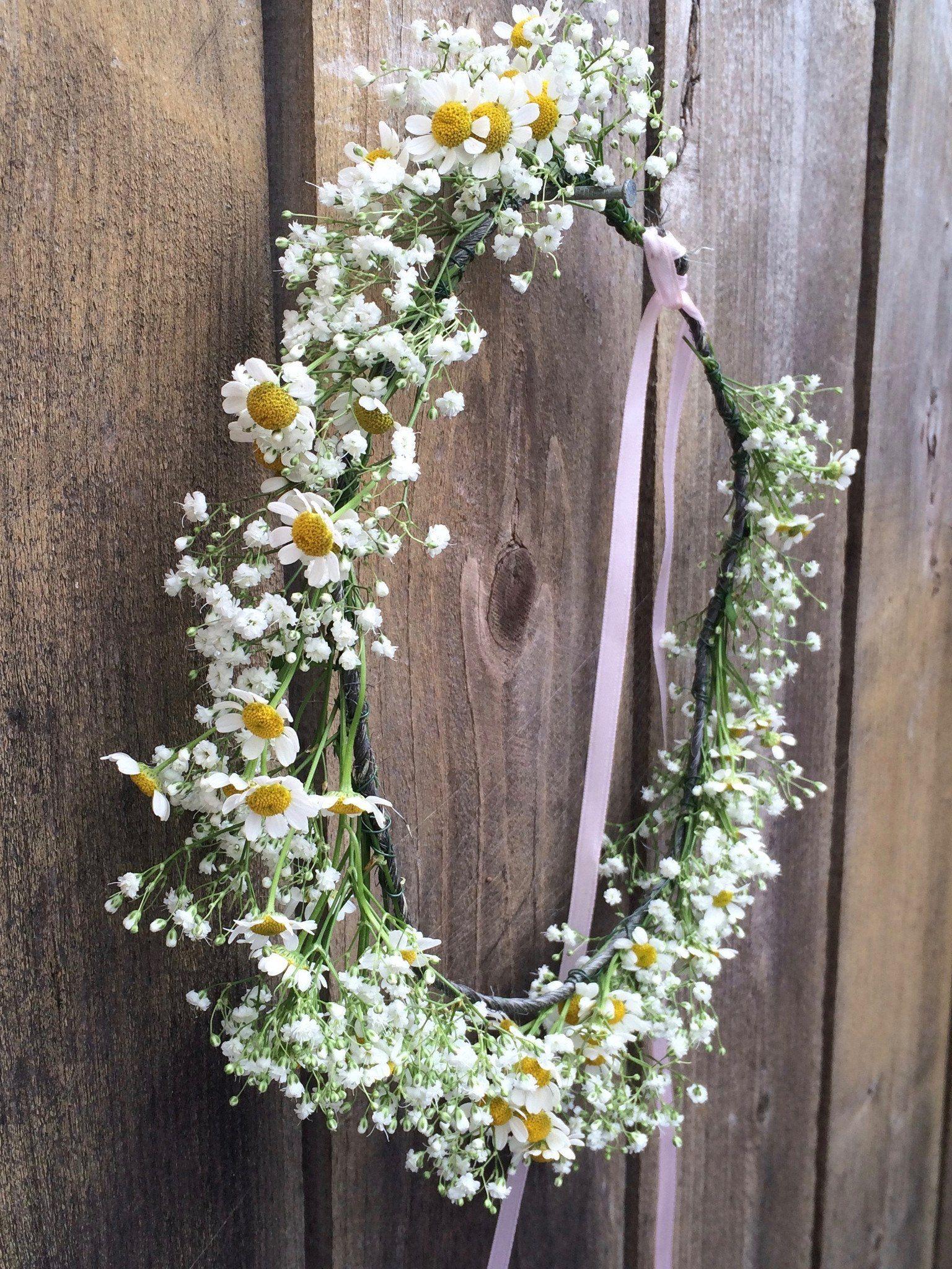 Fresh flower crowns los angeles flower crown bar