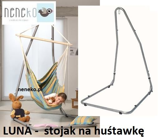 Luna Stojak Na Hustawki Hustawke Fotel Stojaki 5150236876 Oficjalne Archiwum Allegro Hanging Chair Wardrobe Rack Decor