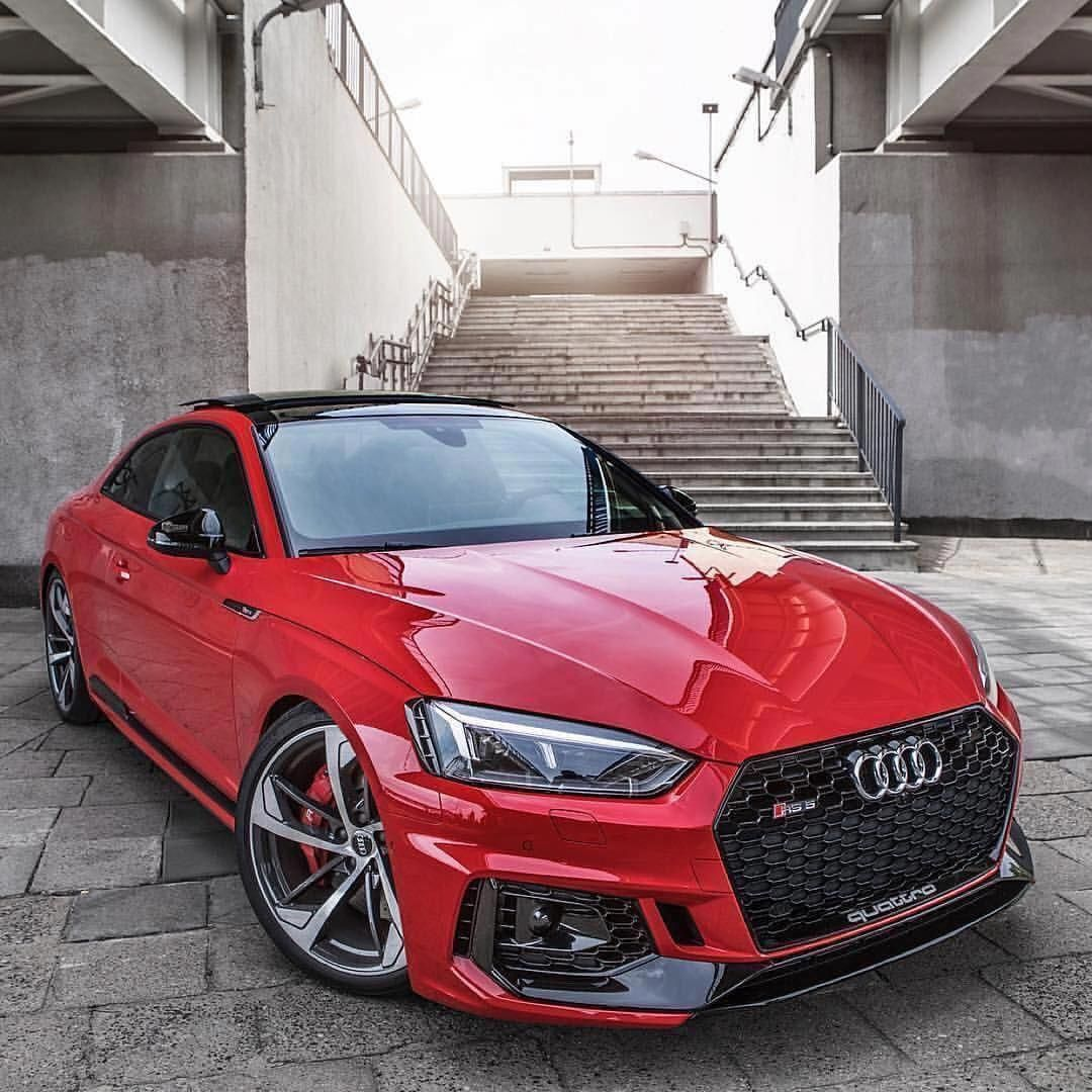Red Nice And Cool Car The Next Luxury Cars In The World Consist Of The Audi A8 After Less Than Reliable Version Years 2015 And A Rs5 Coupe Audi Cars Red Audi