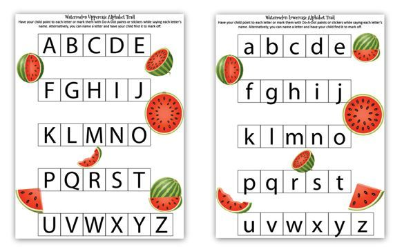 Free Watermelon-Themed Activities For Preschoolers (Math