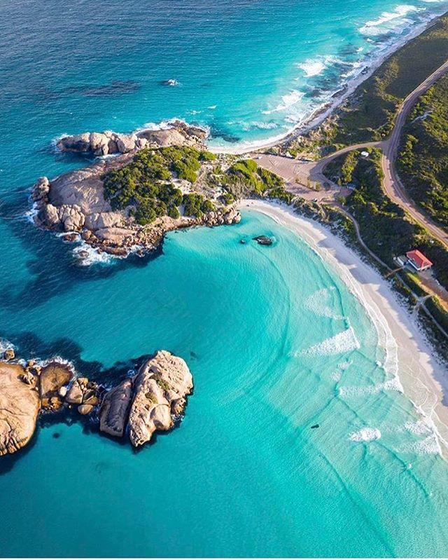 Twilight Beach Esperance Australia Interesting Face Rock Formation Eyes Nose Mouth Chin