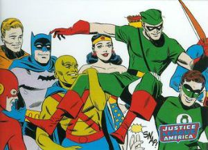 A retrospective card set devoted to the first decade of the #JusticeLeague. Great set. #DCComics #DawnOfJustice