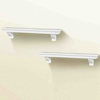 Target Floating Shelves Best Shelves For Renee's Rmtarget Home White Wall Shelving Set Of Two