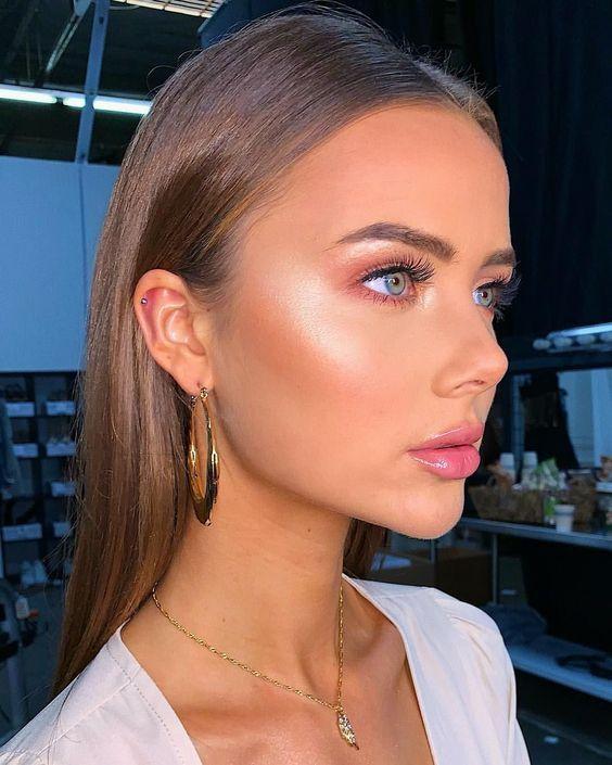 50 natürliche Make-up-Ideen für alle Gelegenheiten #goldmakeup