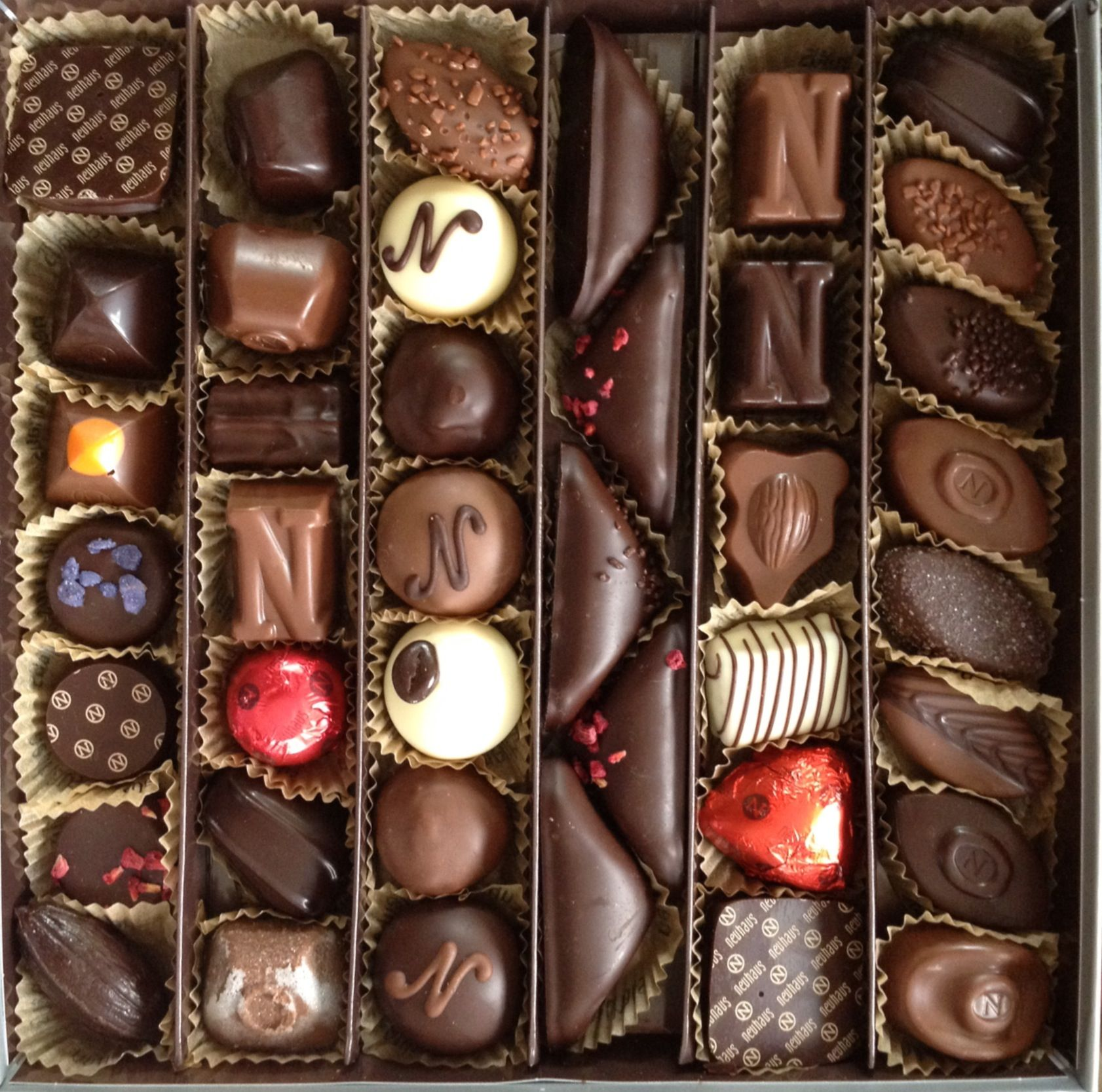 Neuhaus Assorted Chocolates Discovery Collection-Decadent Gift Fun Cute Present