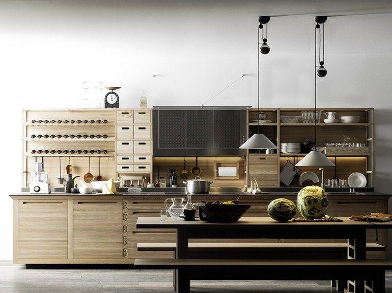 einbauküche aus holz sinetempore kollektion sinetempore by, Möbel