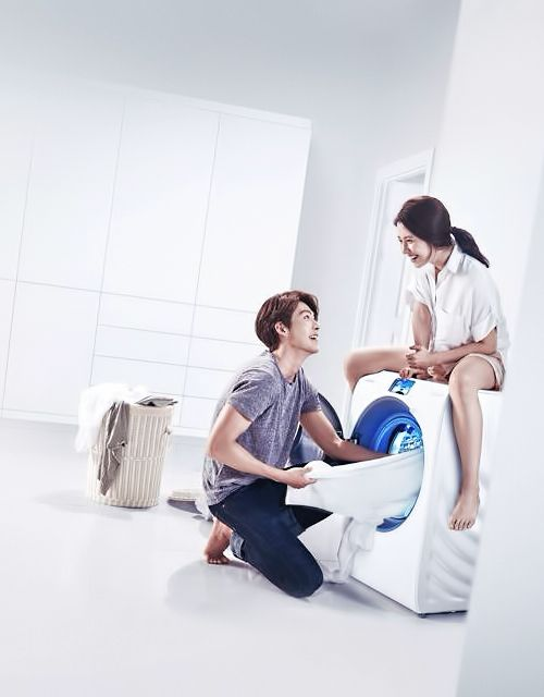 Kim Woo Bin and Song Ji Hyo for Samsung | Kim Woo Bin ...