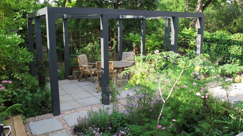 Nice Mature Garden With Pergola