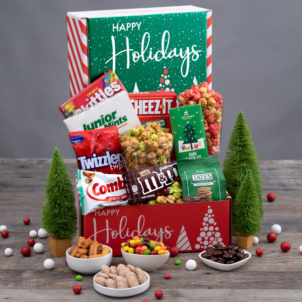 Get A Jump Start On Your Holiday Shopping With Black Friday Deals From Gourmetgiftbaskets Com Their Gourmet Gifts Can Be Delivered Nationwide Review Christmas Candy Gifts Gourmet Gifts Gourmet Gift Baskets