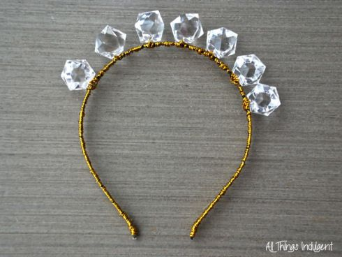DIY Crystal Headband