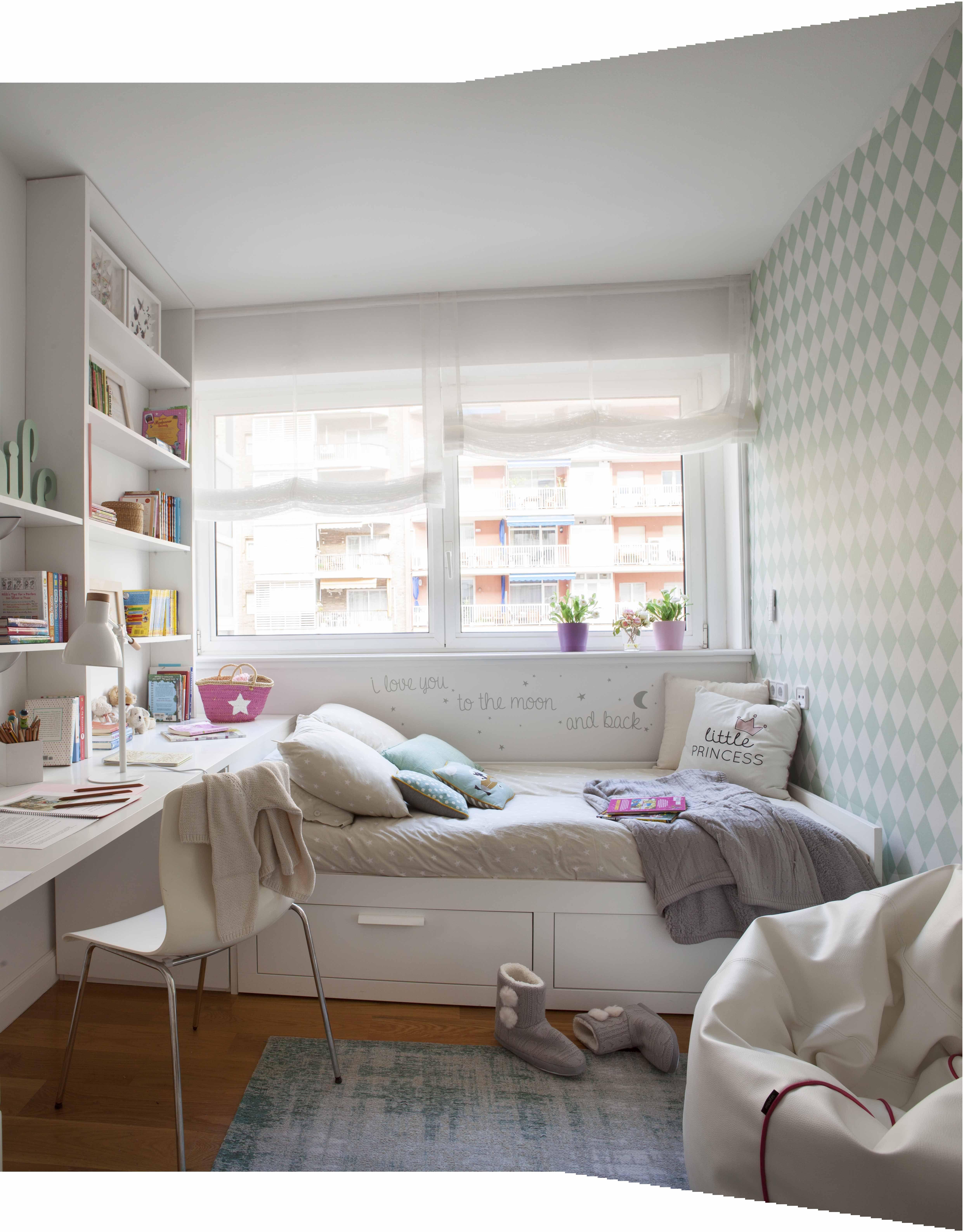 Pin de lu en habitaci n juvenil bedroom d cor child 39 s - Habitacion juvenil nina ...