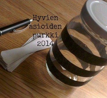Jar of The Good Things 2014 - http://whiteandfresh.casablogit.fi/