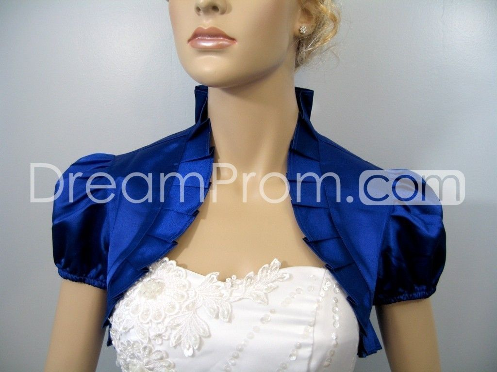 This site makes various boleros and jackets for prom and wedding