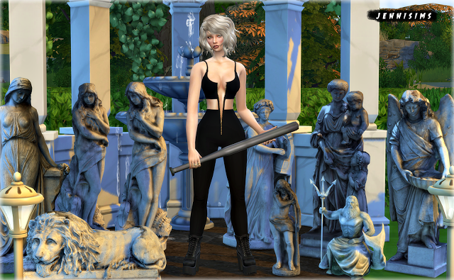 Sims 4 CC's - The Best: Statues by JenniSims | The Sims