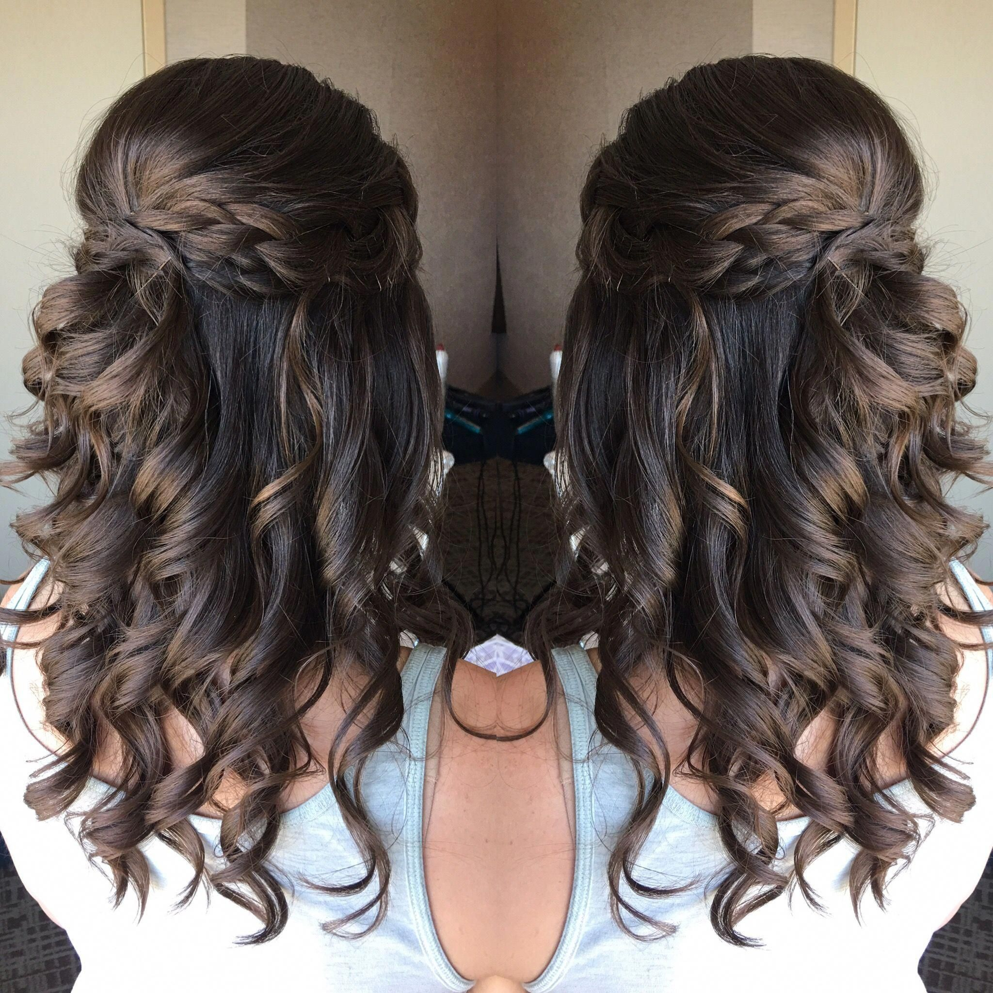 Fabulous Prom Hairstyles Half Up Half Down