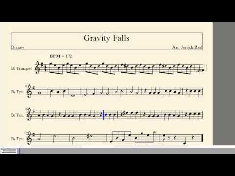 Disneys Theme Song Lyrics For Piano Gravity Falls Theme