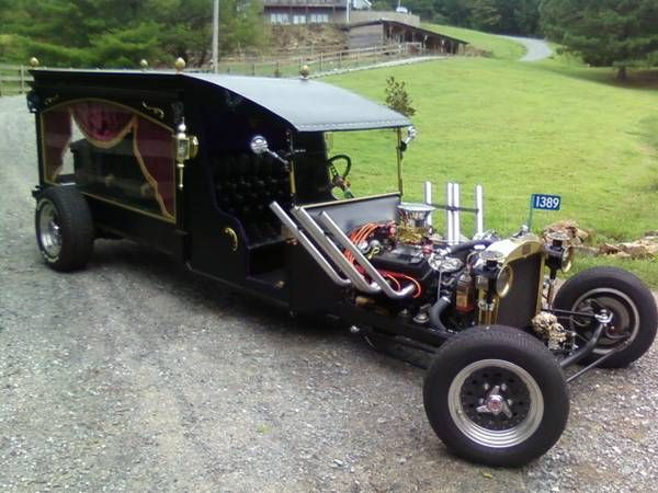 1922 Ford Hearse Rat Rod started life as a 1922 Ford Truck