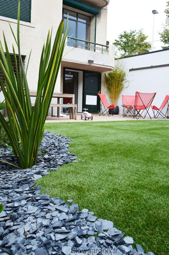Un jardin de ville slowgarden design terrasses et jardins ext rieur amenagement jardin - Amenagement terrasse et jardin ...