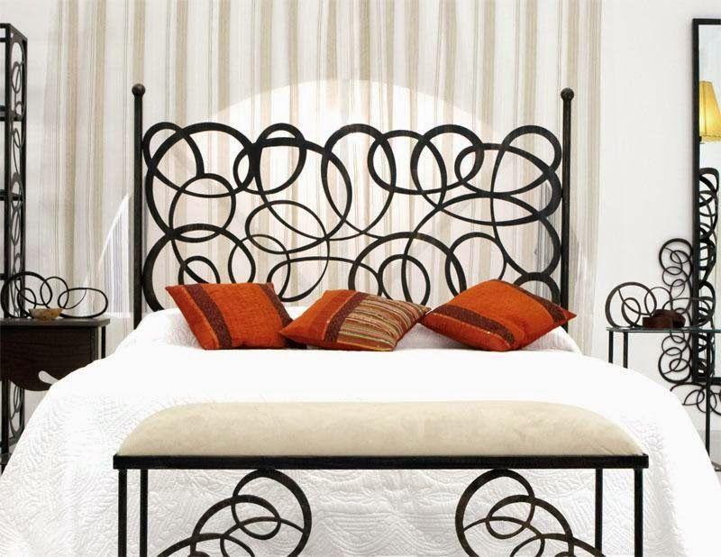 Dormitorios en forja cabeceras de hierro camas de metal - Habitaciones de forja ...