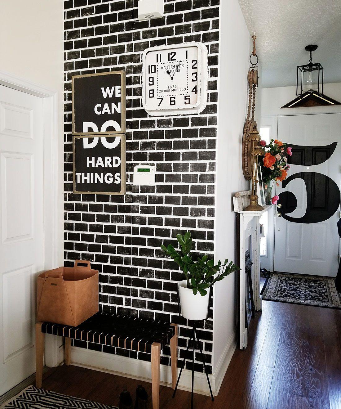 Best Lubeck Bricks Wallpaper • Exposed Black Bricks Brick 640 x 480