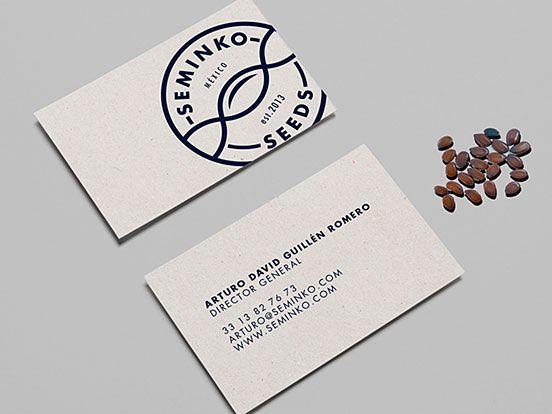 Seminko seeds business card branding business cards pinterest seminko seeds business card colourmoves
