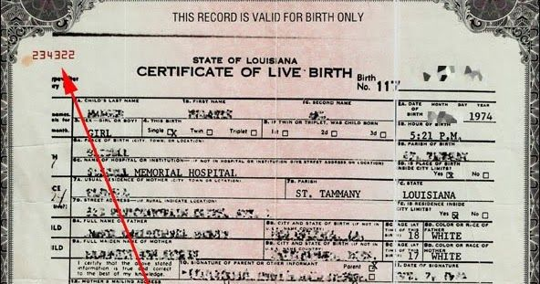UPDATED: Your Birth Certificate Was Made Into a Bond...it\'s Worth ...